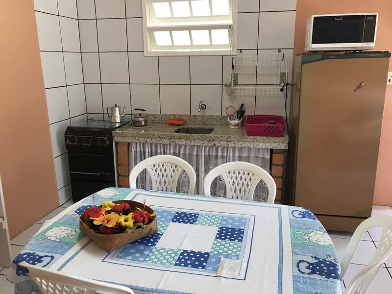 Cozinha Apartamento 6 pessoas - Residencial Araras - Praia de Ponta das Canas - Florianópolis - Brasil