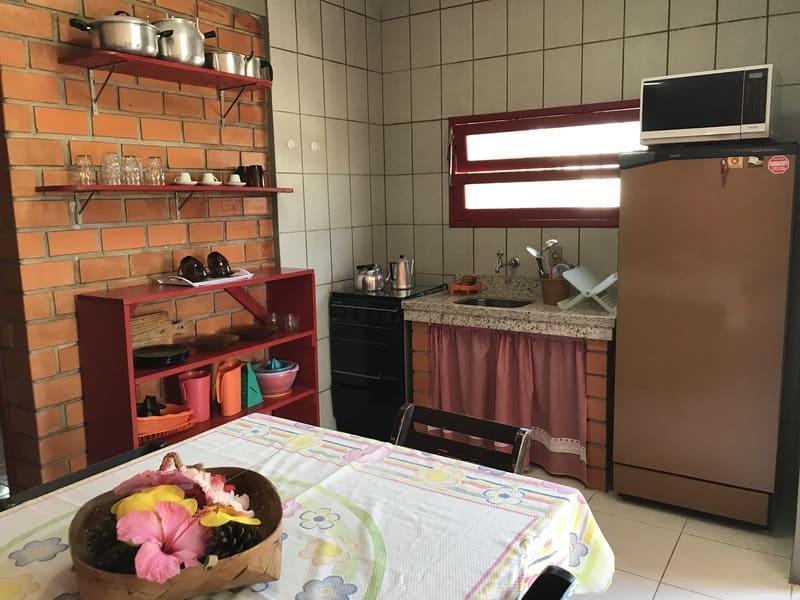 Sala Apartamento 4 ou 5 pessoas - Residencial Araras, Praia de Ponta das Canas, Florianópolis, Brasil