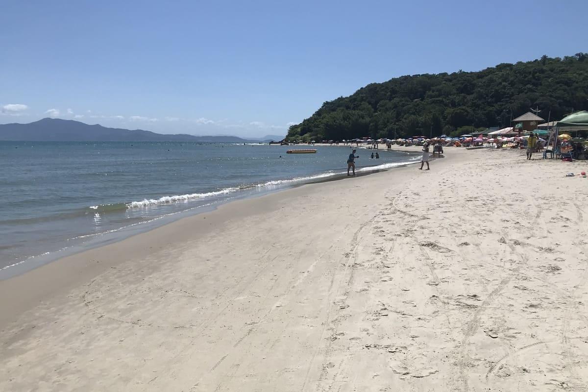Praia de Ponta das Canas - Florianópolis - Brasil